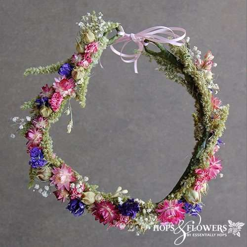 Cottage Garden Flower Crown