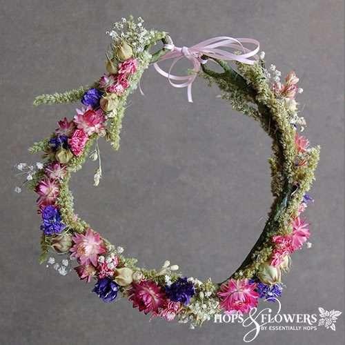 Cottage Garden Flower Crown