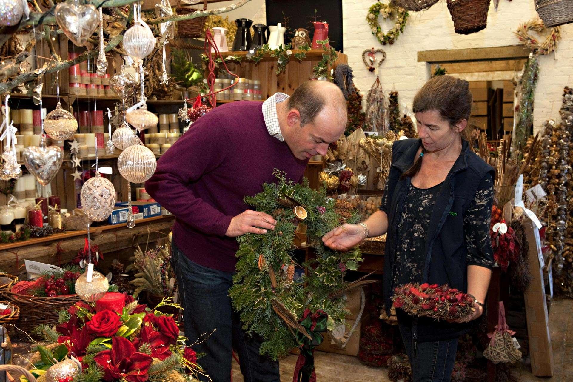 phil spencer christmas wreath